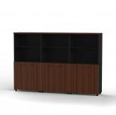 Kabinet Pintu & Rak 4 Tingkat GCS 240 HBD Black