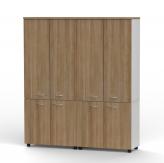 Kabinet Pintu 5 Tingkat OCS 160 LHCFD Grey